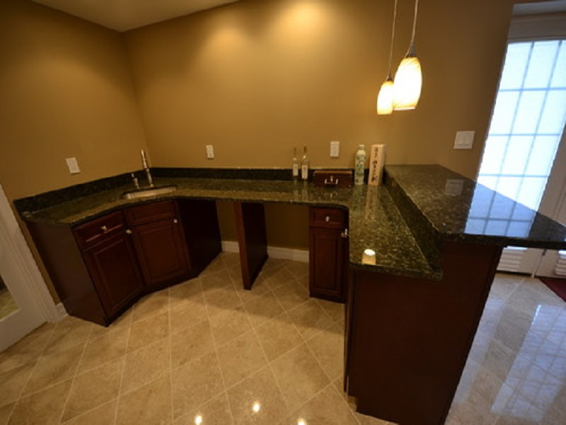 Picture of: Wet Bar Ideas For Basement Granite