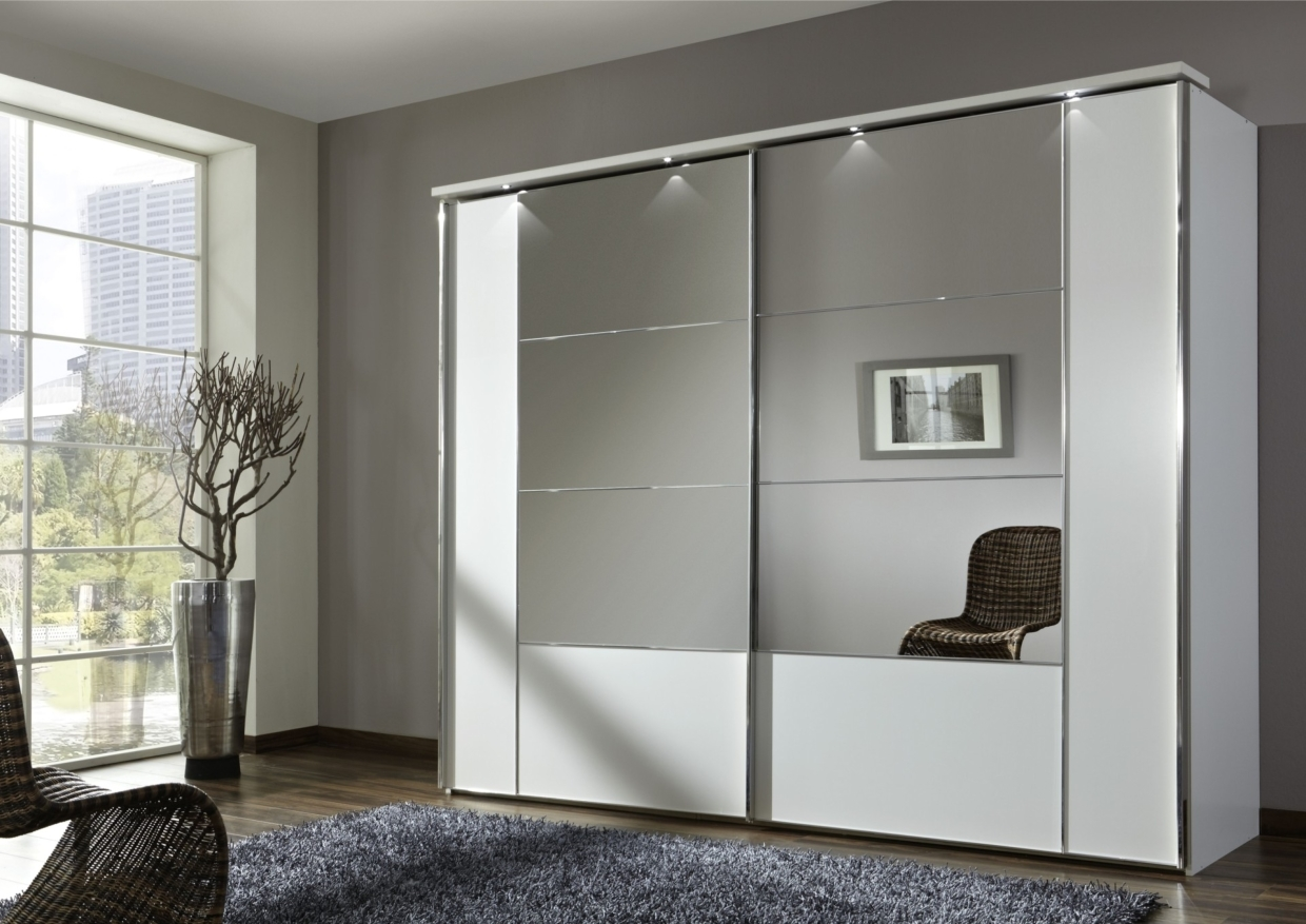 White Basement Closet Doors