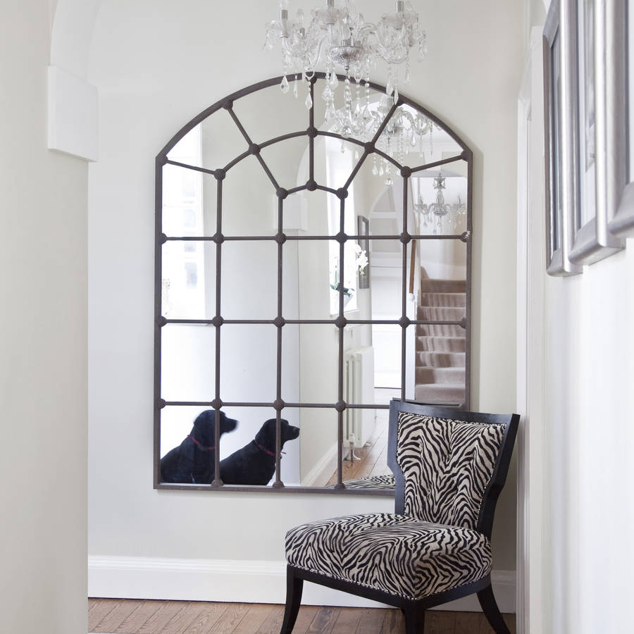Picture of: Window Mirror Wall Decor Modern