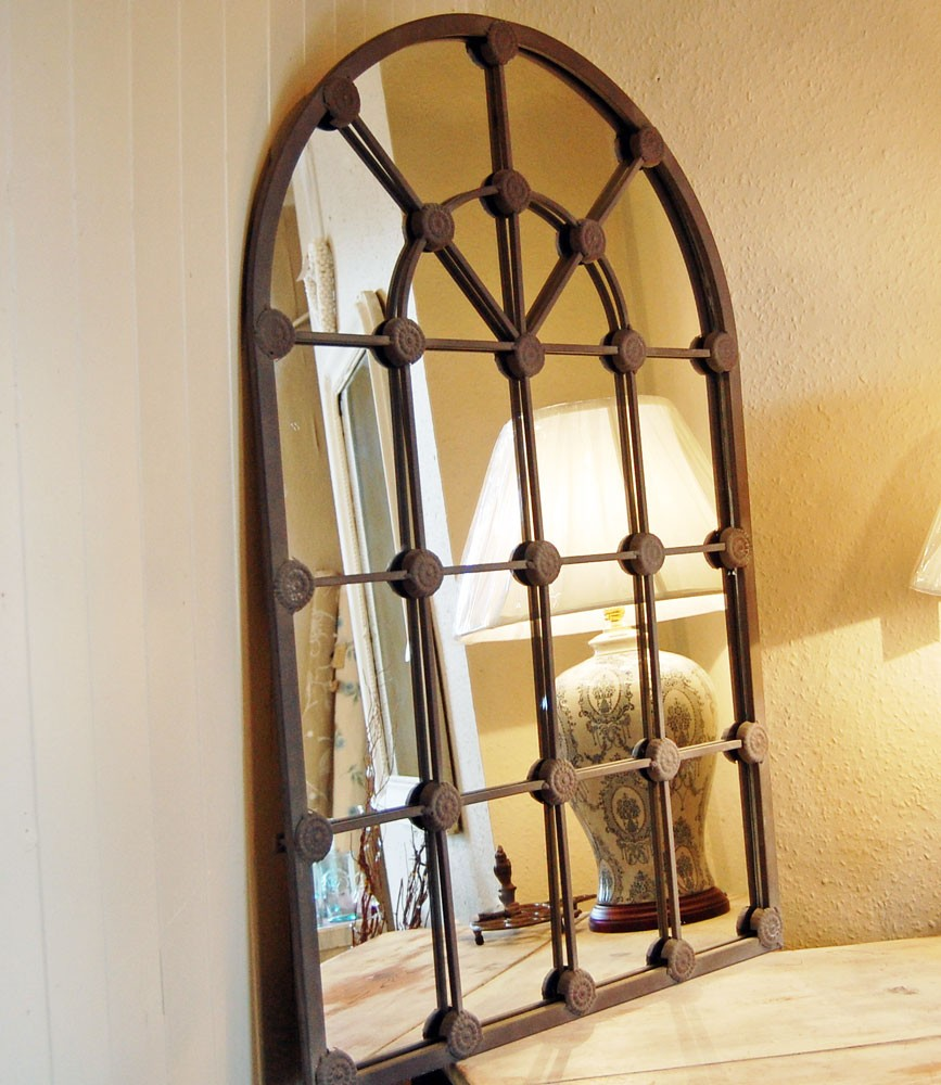 Picture of: Window Mirror Wall Decor Vintage