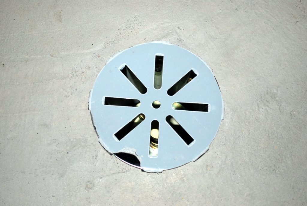 Image of: Basement Floor Drain Cover Design