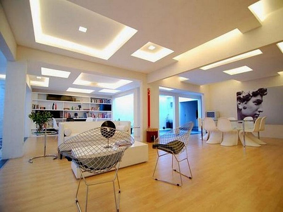 Picture of: Basement Lighting Ideas Low Ceiling Led