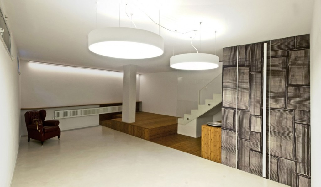 Picture of: Basement Lighting Ideas Low Ceiling Round