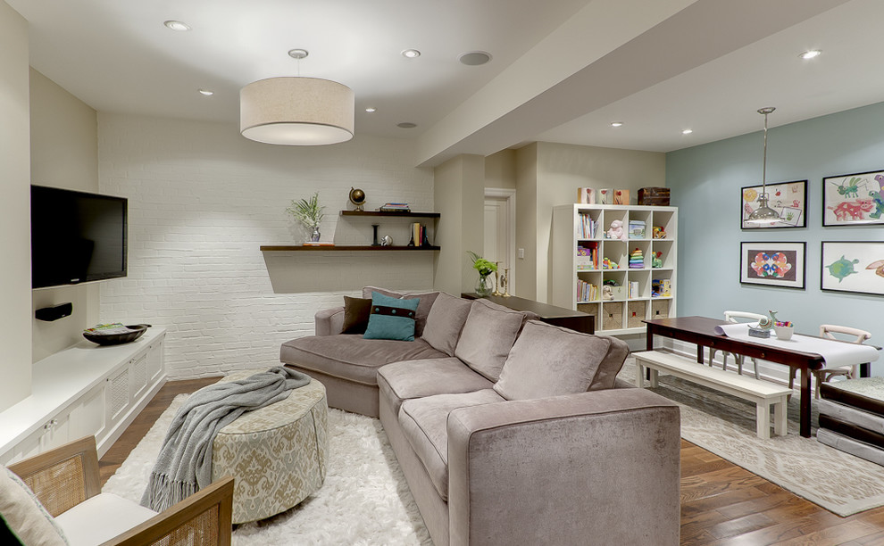 Picture of: Basement Lighting Ideas Low Ceiling Shades