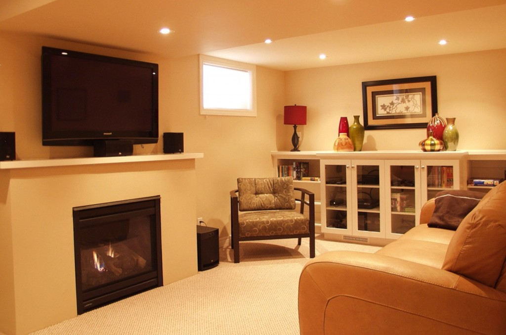 Picture of: Basement Lighting Ideas Low Ceiling