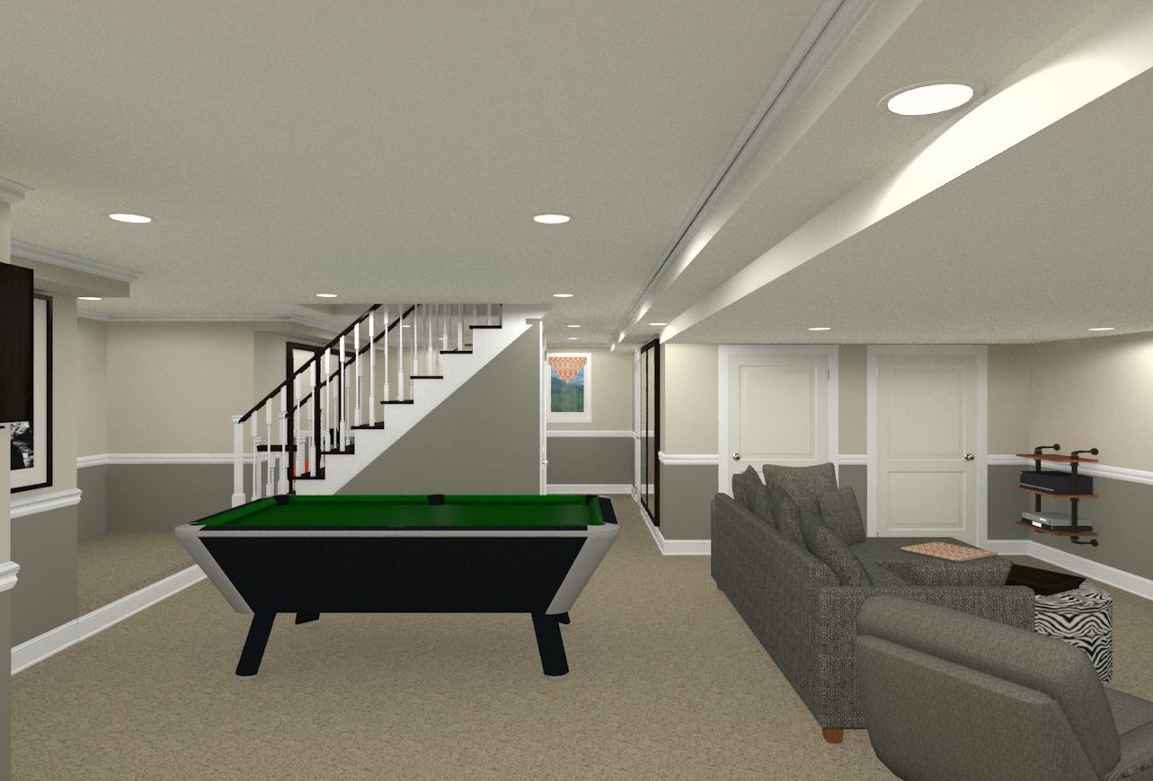 Basement Stairs Design Plans