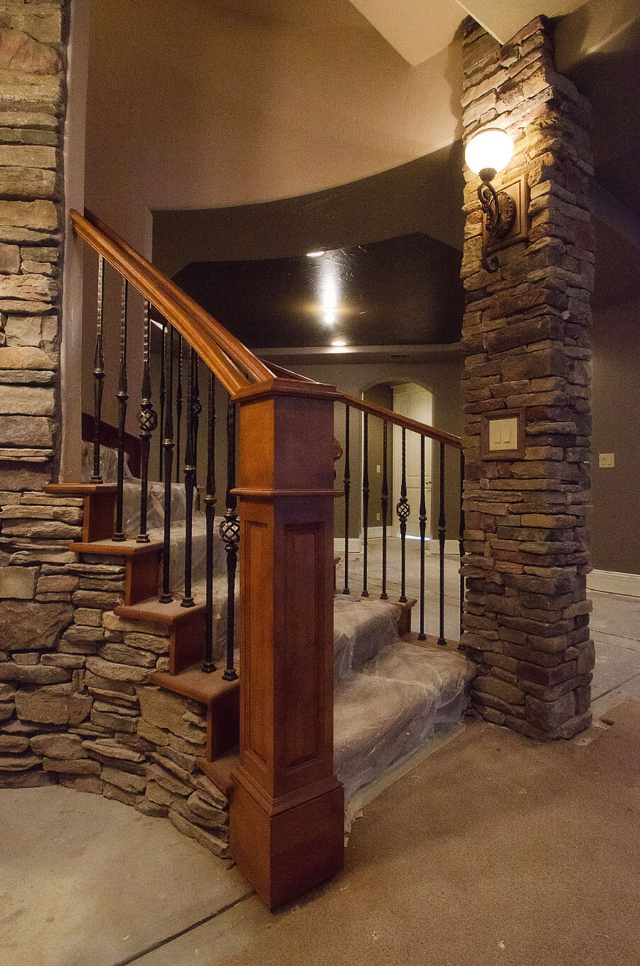 Basement Stairs Design Rail