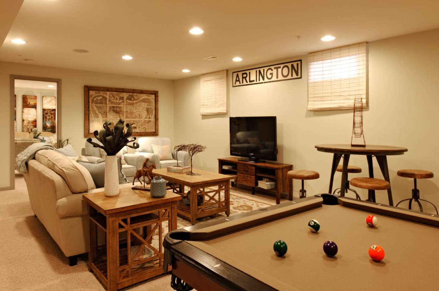Picture of: Basement Window Blinds Design