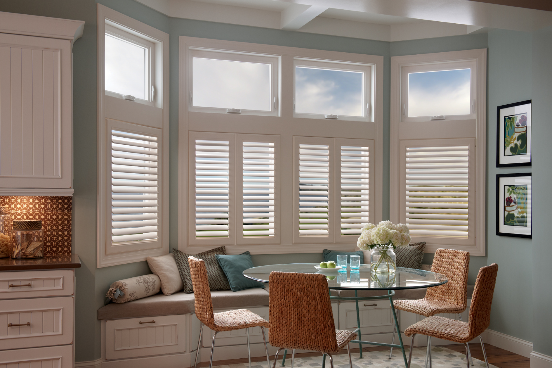 Picture of: Basement Window Blinds Ideas