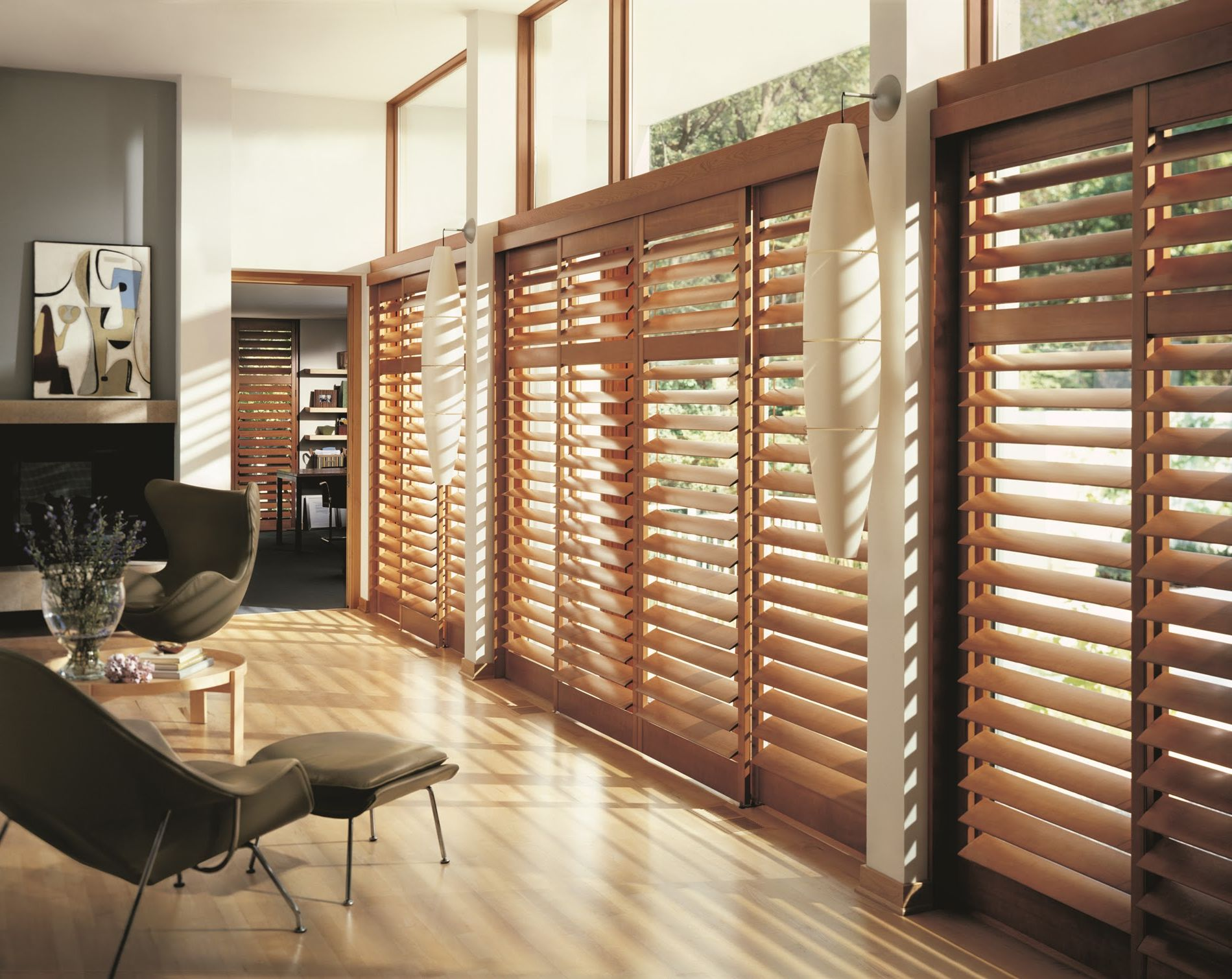 Picture of: Basement Window Blinds Interior