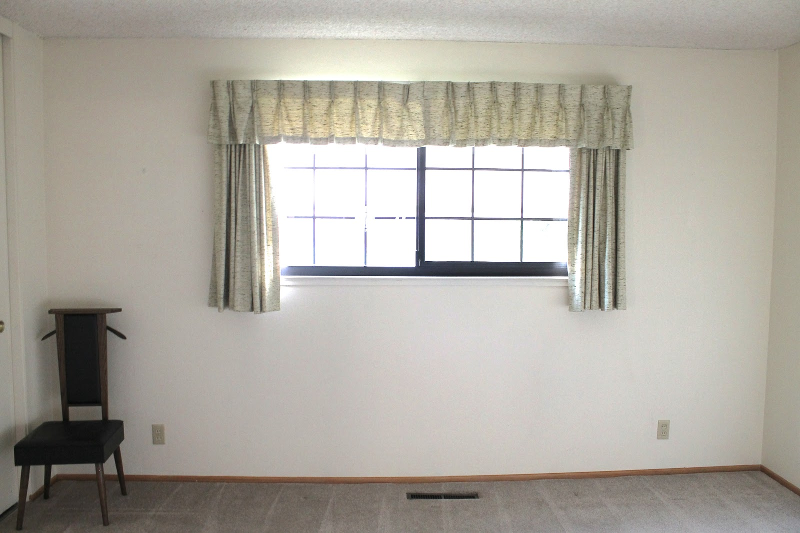 Basement Window Curtains Design