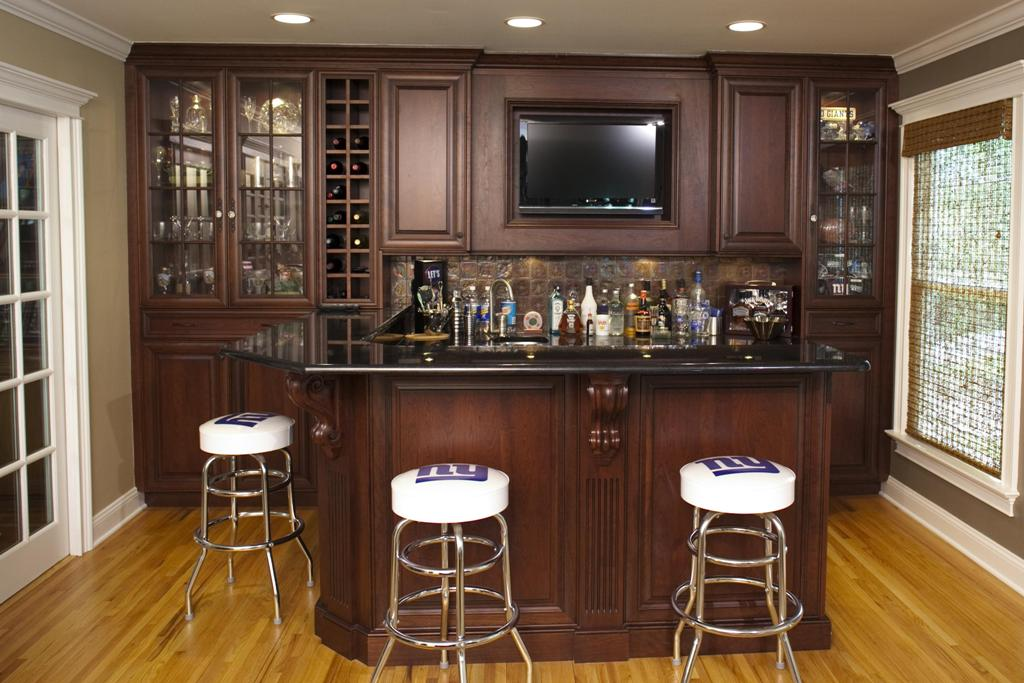 Beautiful Basement Wet Bar