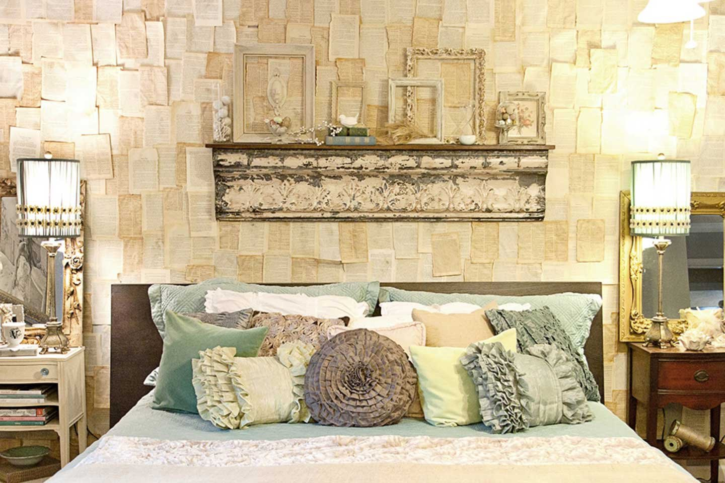 Image of: Beautiful DIY Rustic Wall Decor
