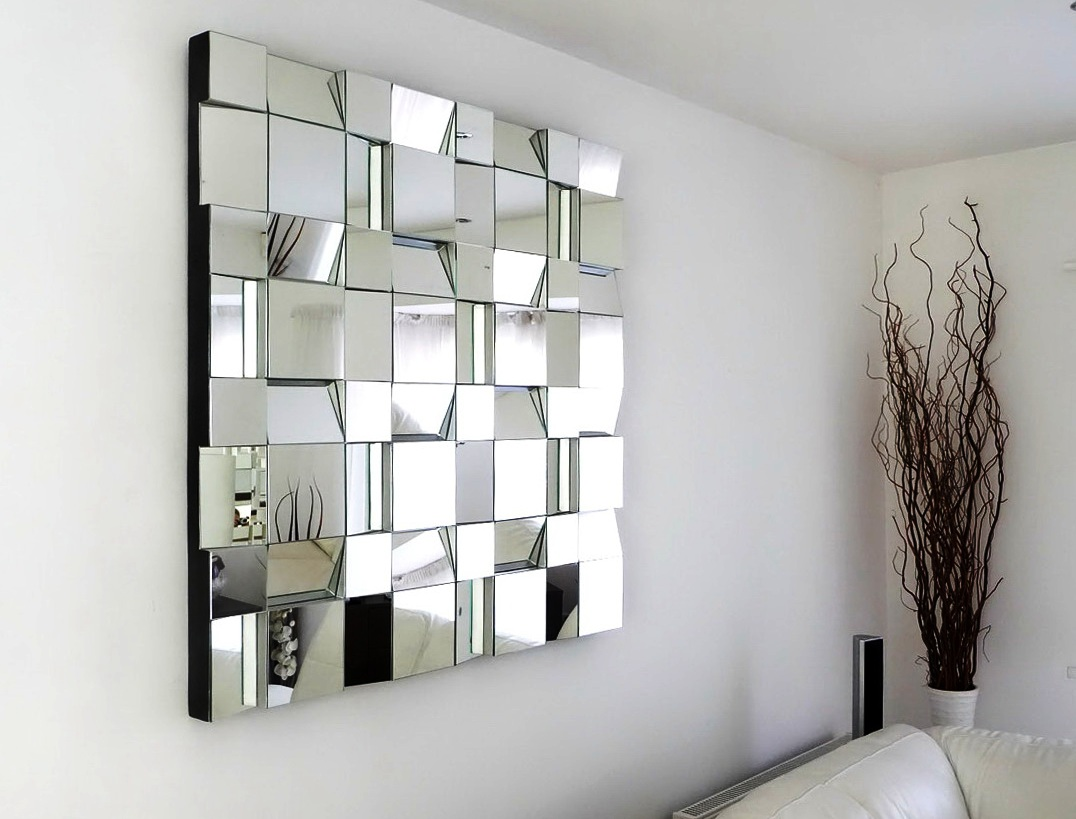 Image of: Black-Wall-Mirrors-Decorative-Art