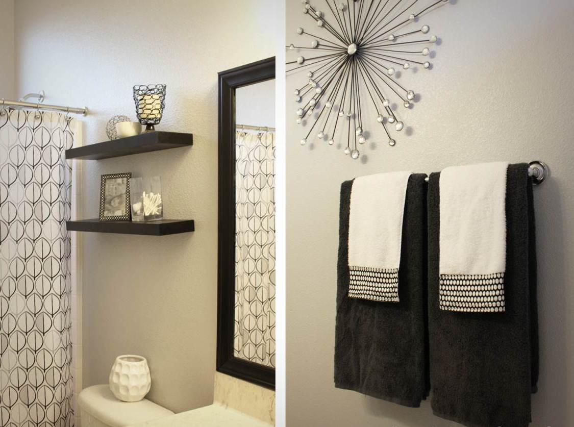 Picture of: Black Wall Mirrors Decorative Wall