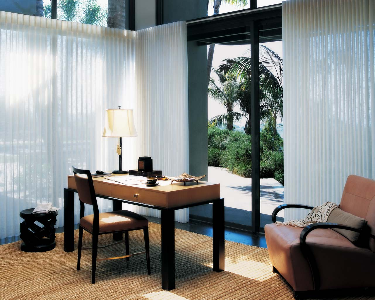 Picture of: Contemporary Basement Window Blinds