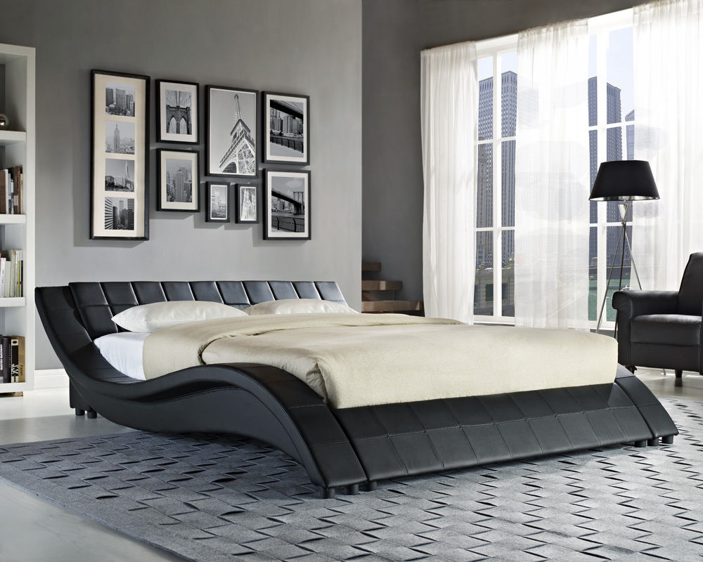 Contemporary King Size Bed Mattress