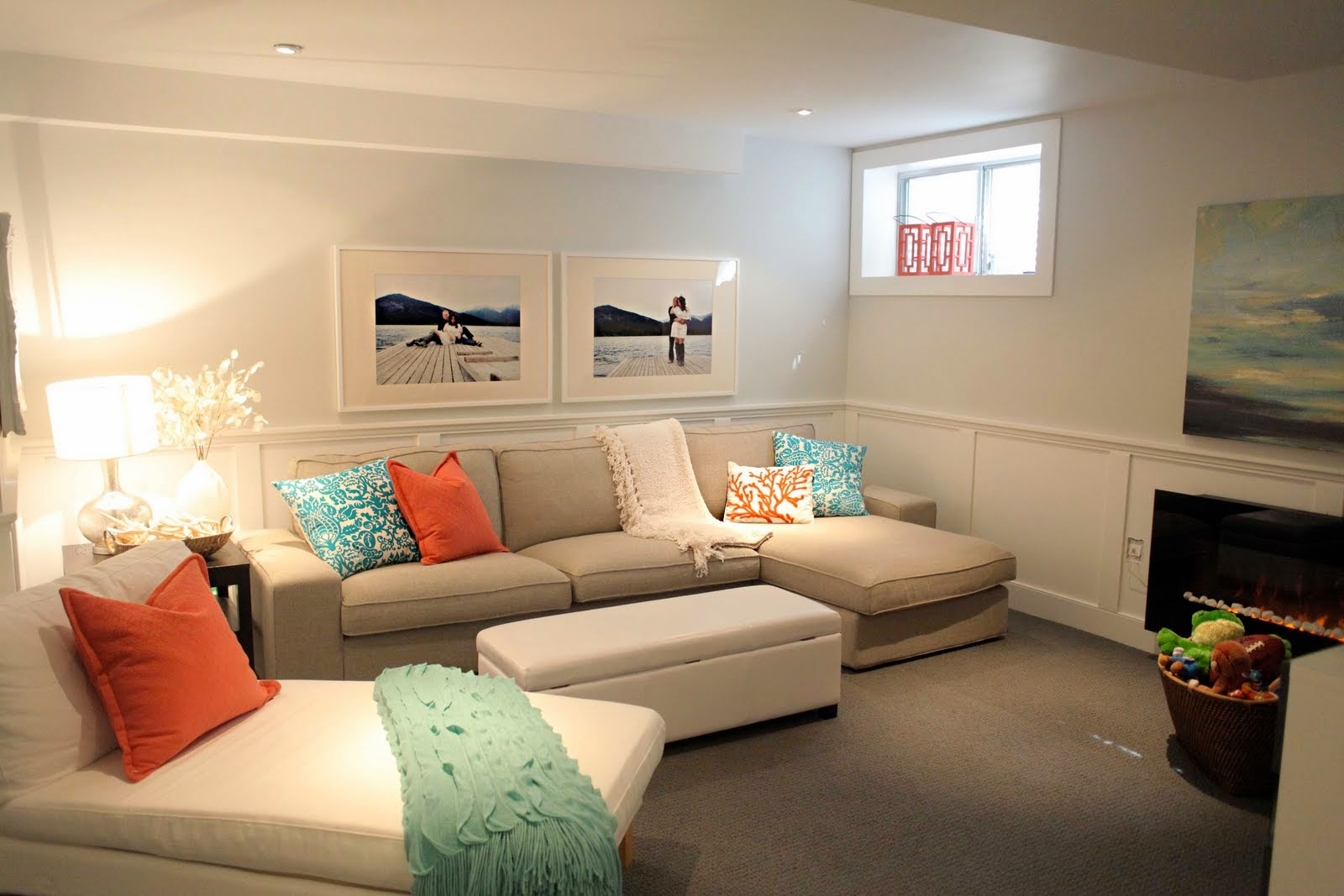 Picture of: Contemporary Paint Colors for Basement