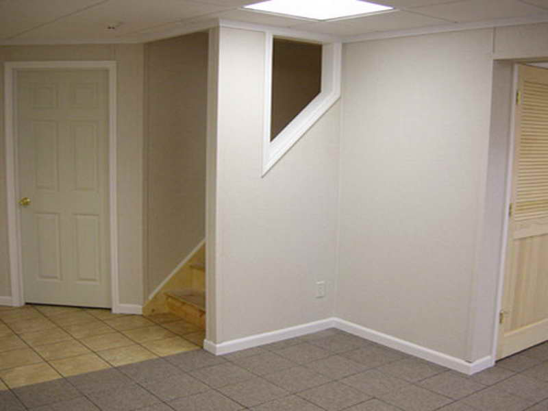 Corner Removable Basement Wall Panels