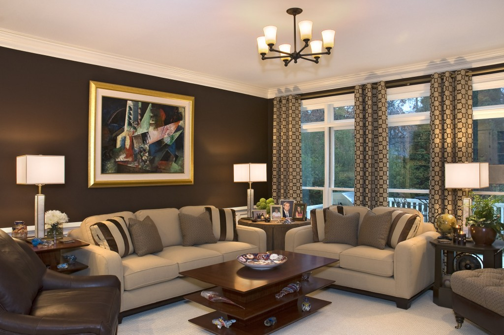 Image of: Cozy Modern Wall Decor for Living Room