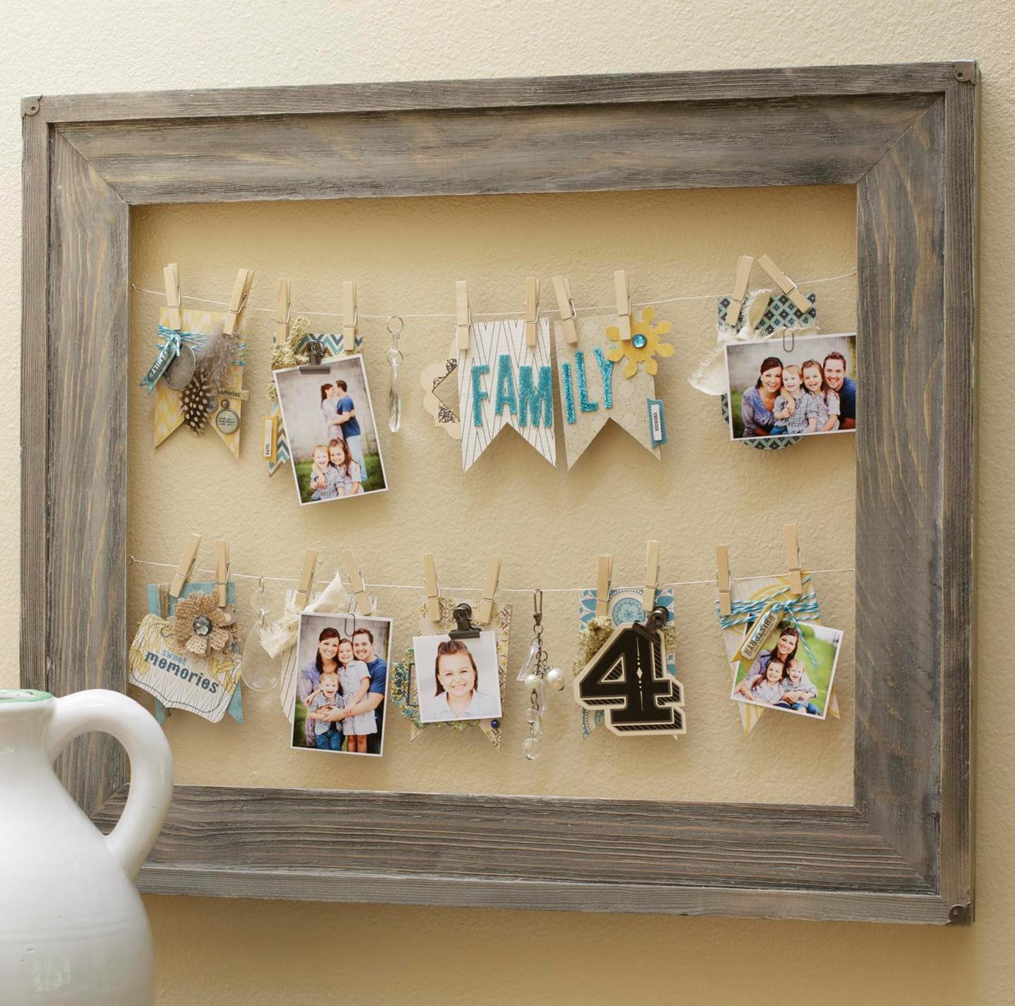 Image of: DIY Rustic Wall Decor Ideas