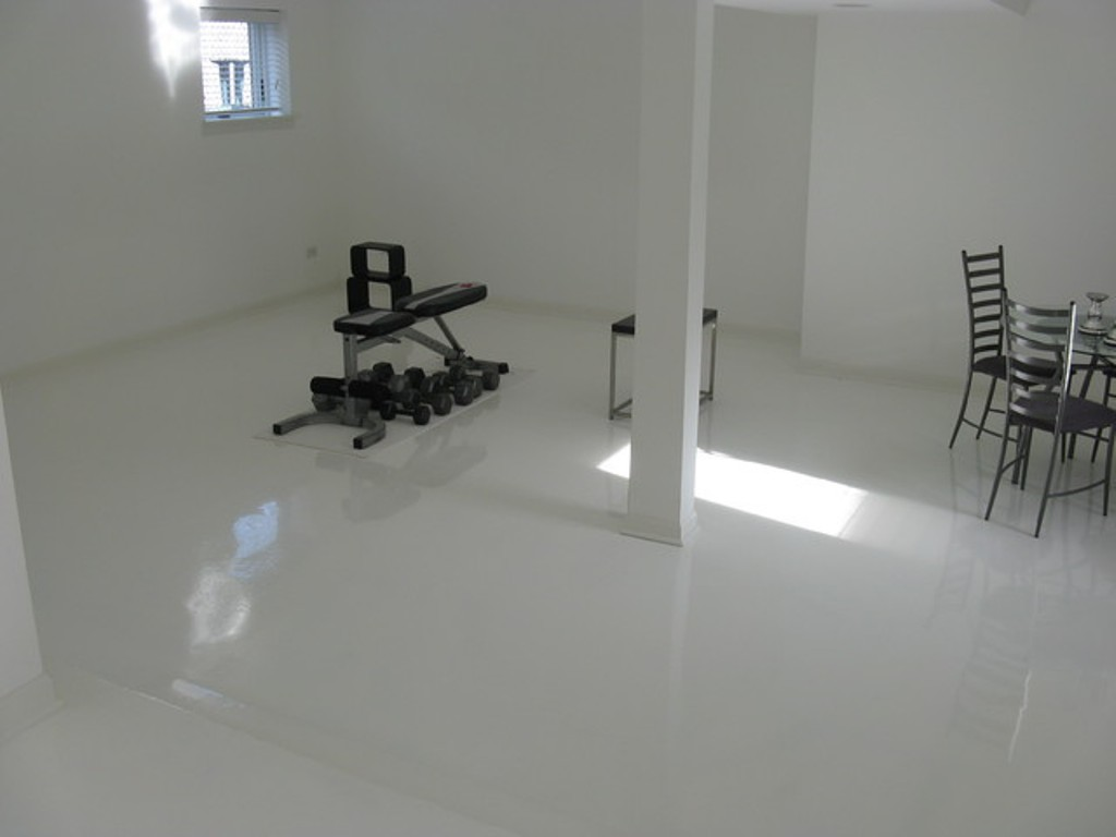 Picture of: Epoxy Basement Floor Covering