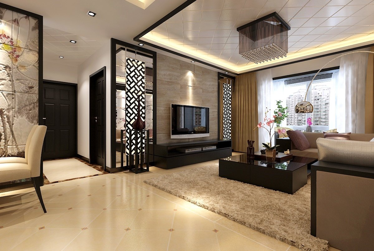 Image of: Excellent Modern Wall Decor for Living Room