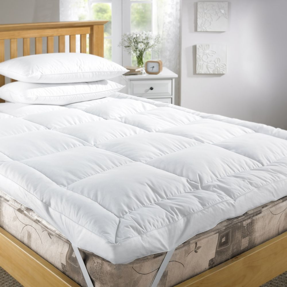 Image of: Extra Deep King Size Mattress Pad