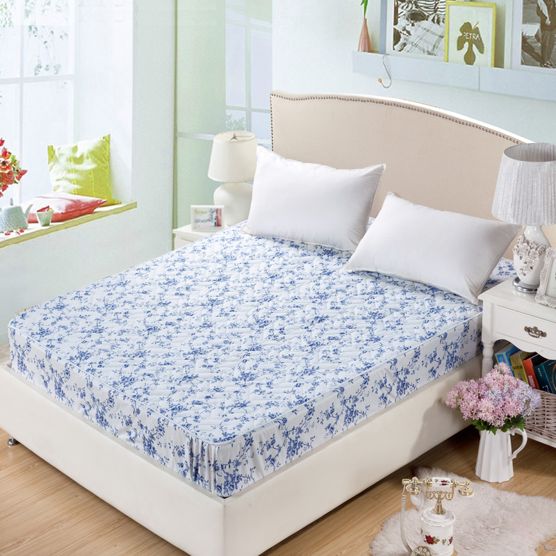 Image of: Floral King Size Mattress Pad