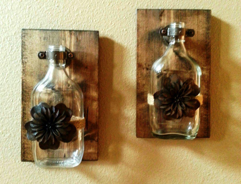 Image of: Good DIY Rustic Wall Decor