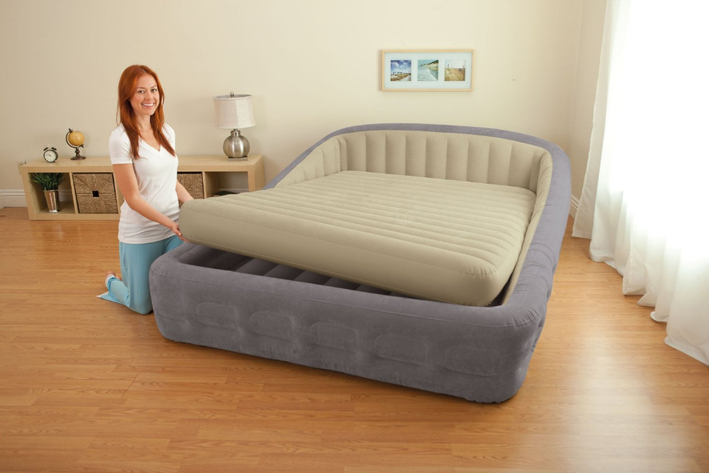 Image of: King Size Air Mattress For Kids