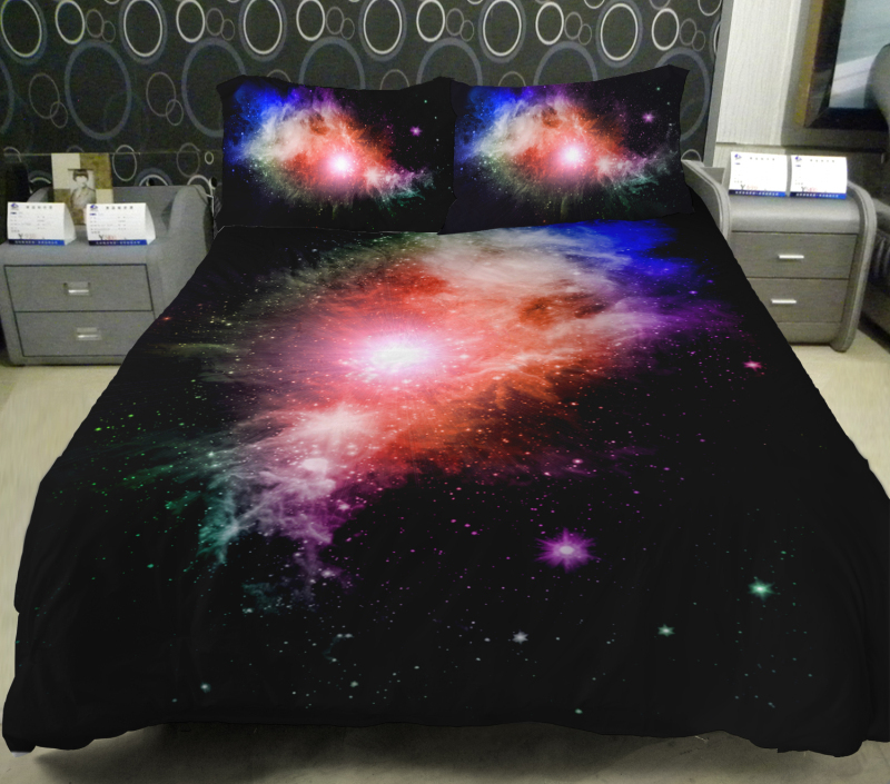Image of: King Size Air Mattress Galaxy