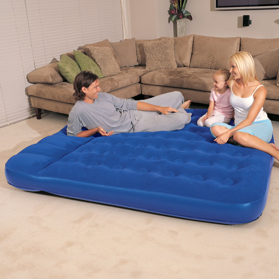 Image of: King Size Air Mattress Inflatable