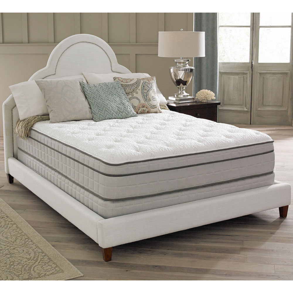 Image of: King Size Air Mattress White
