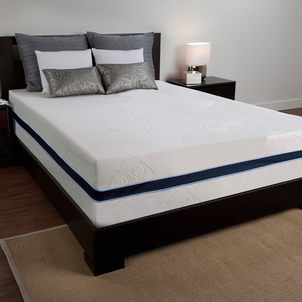 Image of: King Size Foam Mattress Bedroom