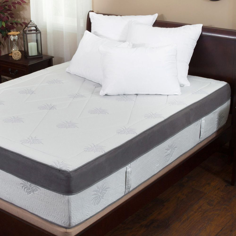 Image of: King Size Foam Mattress Review