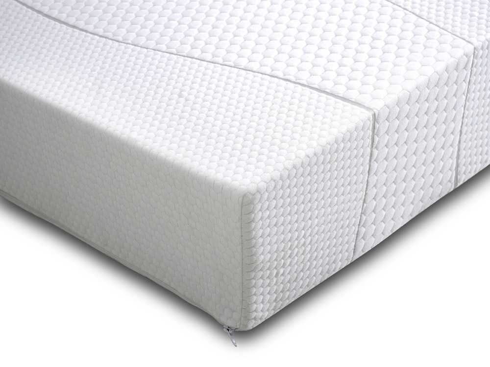Image of: King Size Foam Mattress White