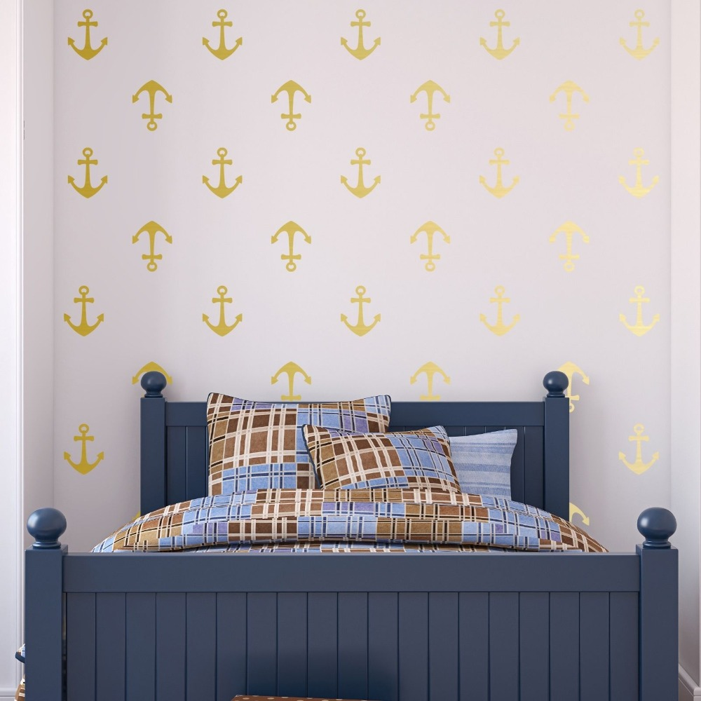Large Anchor Wall Decor For Bedding