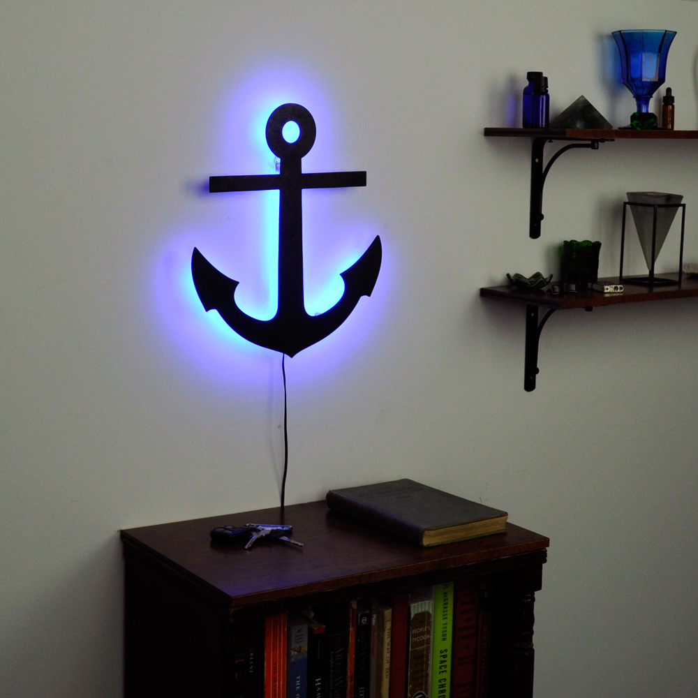 Large Anchor Wall Decor Ideas