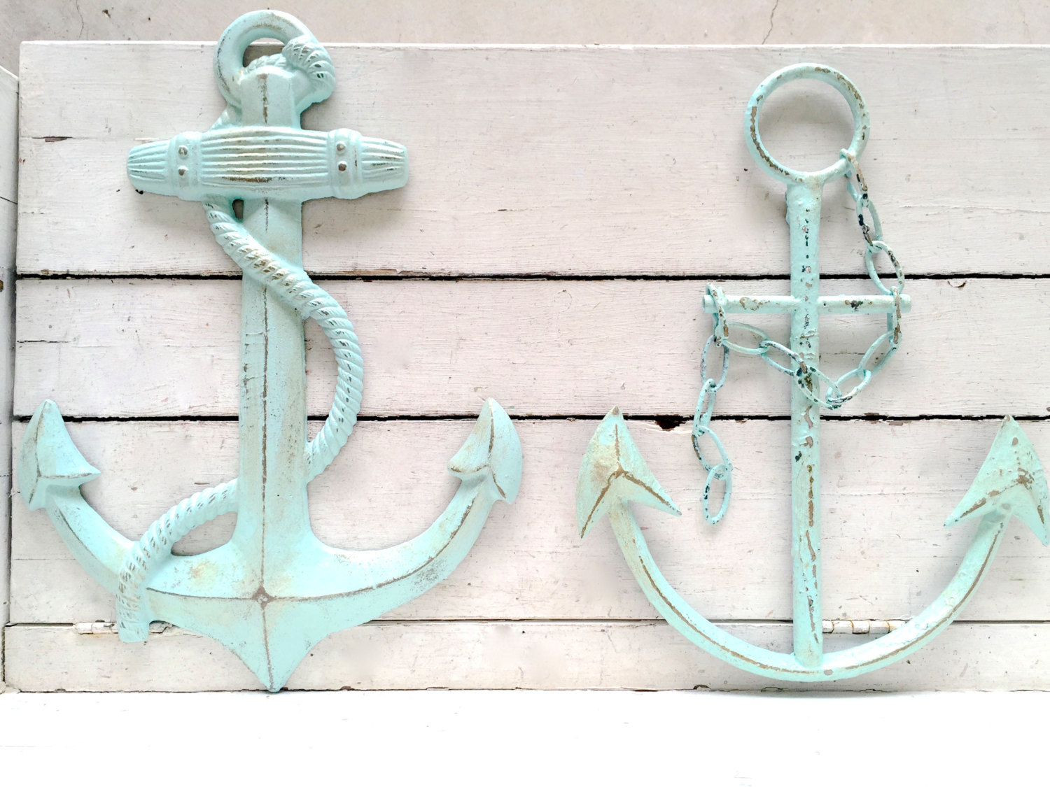 Large Anchor Wall Decor Image