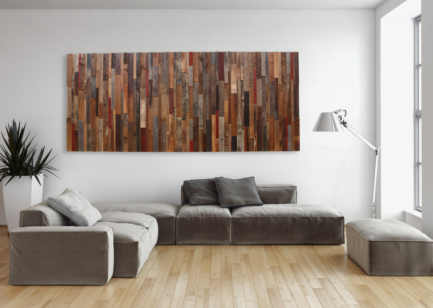 Image of: Large Wall Decor Ideas Living