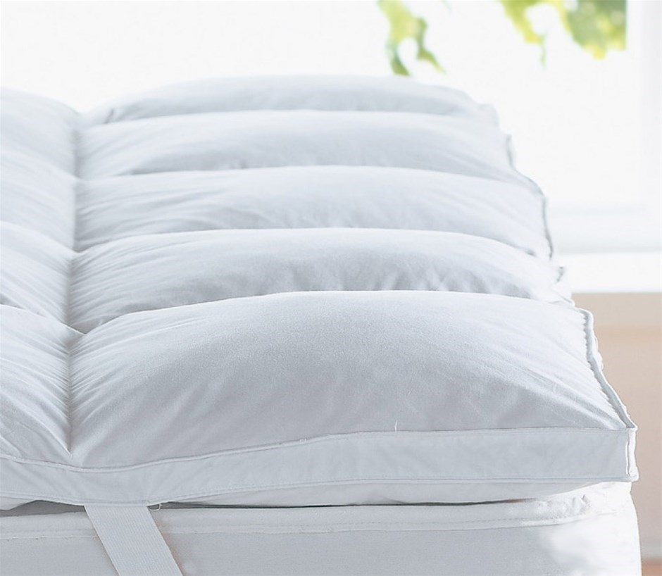 Image of: Latex King Size Mattress Pad
