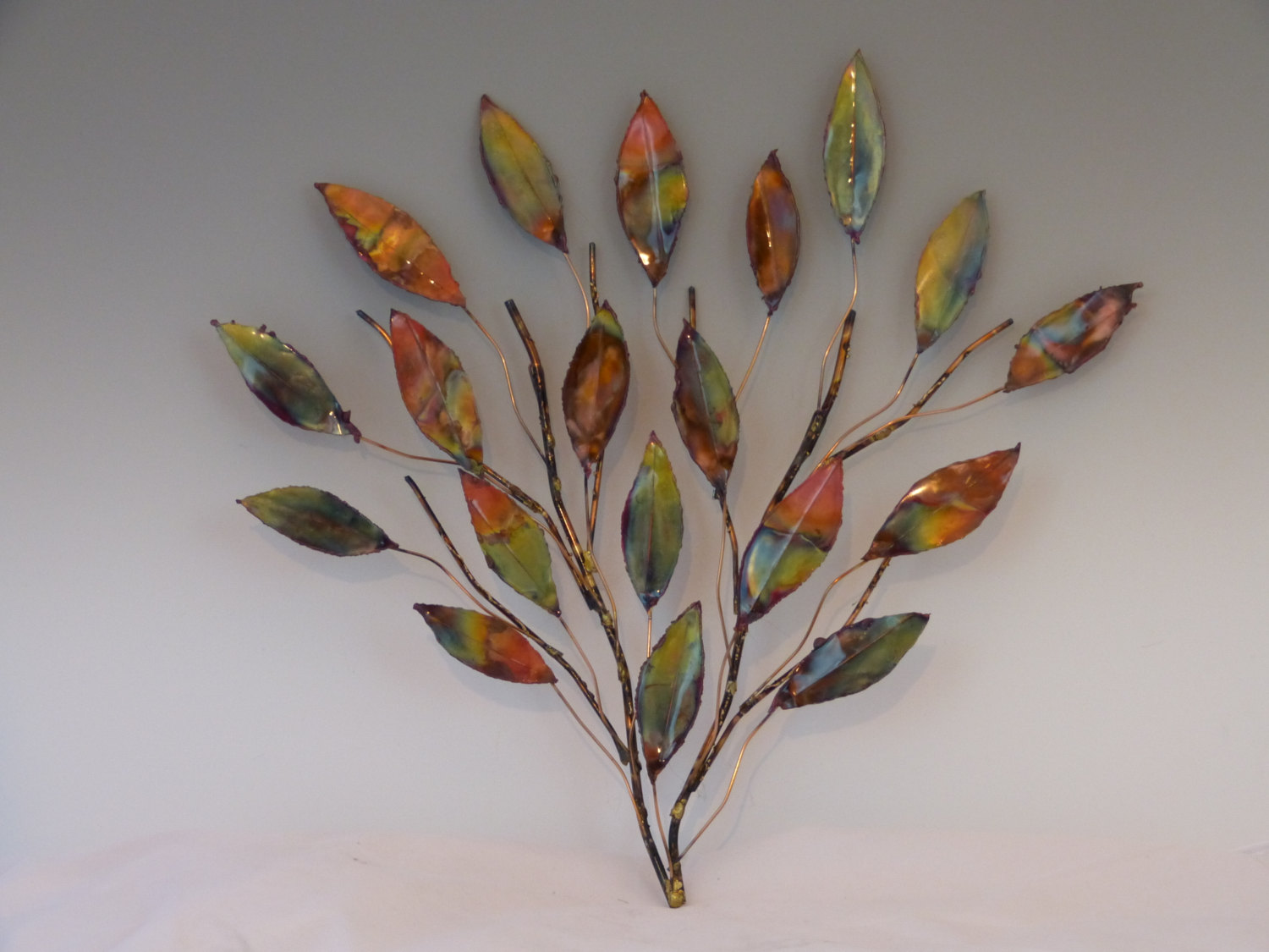 Image of: Metal Wall Art Decor and Sculptures Plan