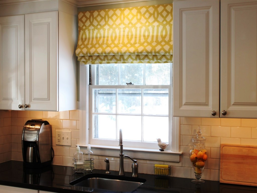 Modern Basement Window Curtains