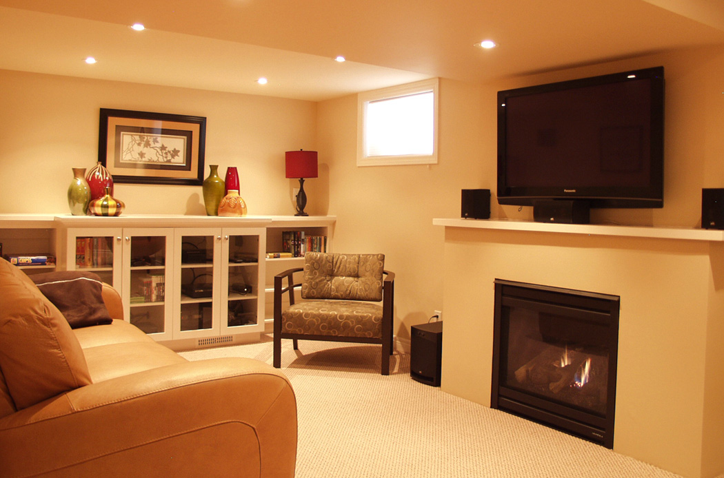 Picture of: Modern Paint Colors for Basement Ideas