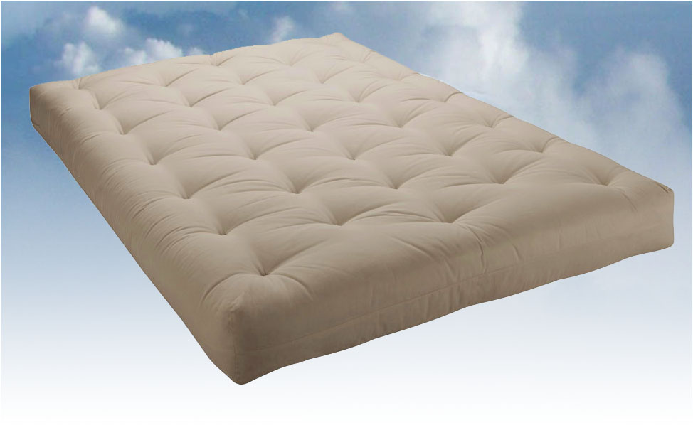 Natural Cotton Futon Mattress