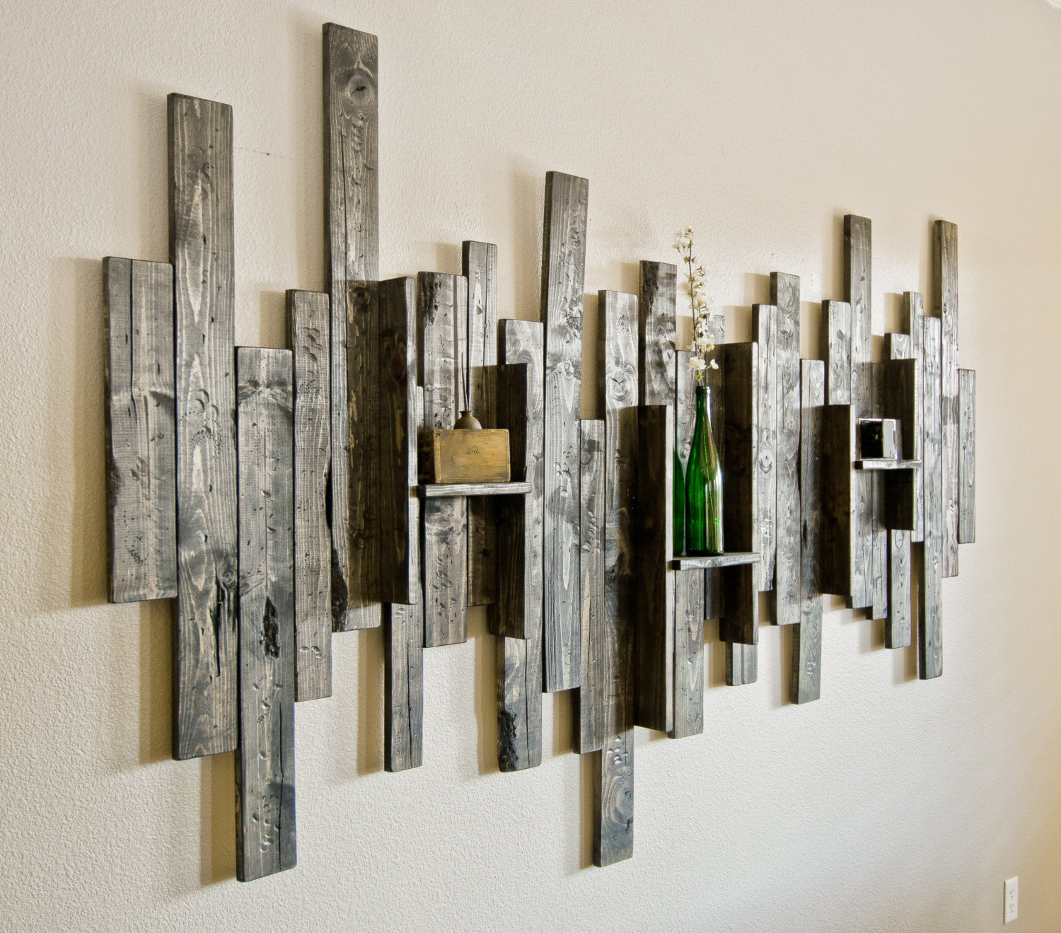 Image of: Nice DIY Rustic Wall Decor