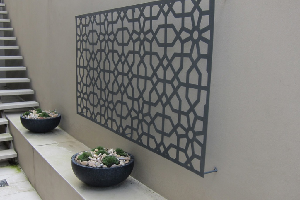 Picture of: Outdoor Metal Wall Decor Art