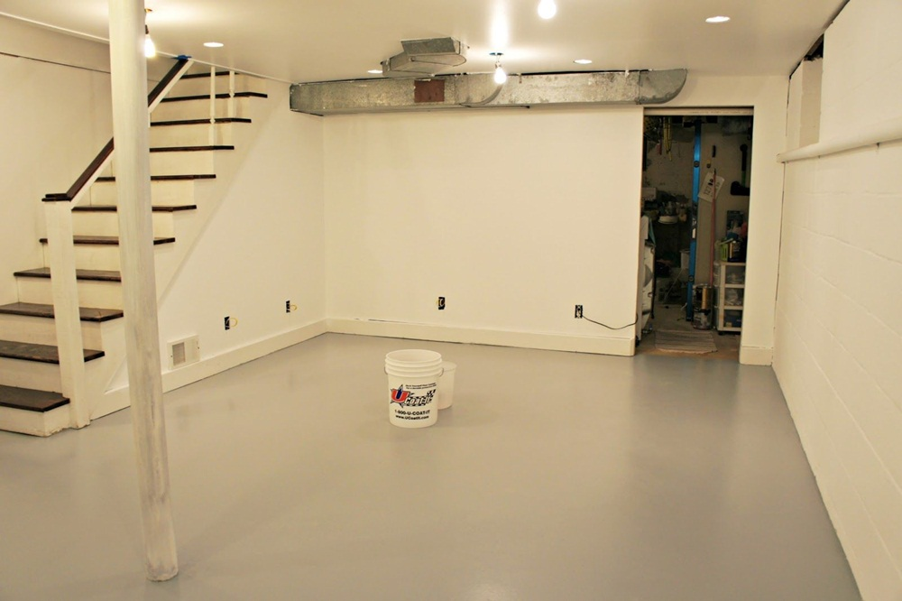 Painting Basement Walls