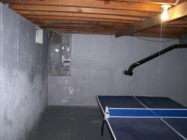 Picture of: Painting Unfinished Basement Walls Image